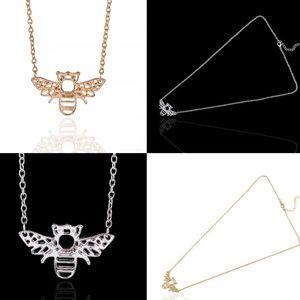 Jewelry - SILVER HONEY BEE PENDANT NECKLACE NEW